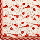 #7: Dupatta Bazaar Woman's Net Dupatta with Embroidery.