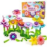 Shmily Jouets de Construction de Fleurs 52 PCS & 109 PCS pour Enfants - Meilleur Cadeau