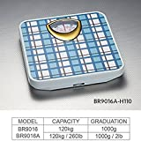 #3: MCP Deluxe Personal Weighing Scale Analog Mechanical 120kg (Blue Check)