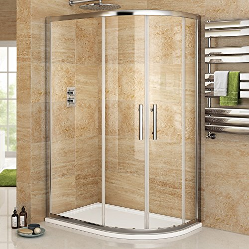1000-x-800-mm-right-hand-offset-quadrant-easy-clean-shower-enclosure-tray-set