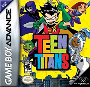 Teen Titans - Game Boy Advance - US