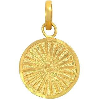 Popleys 22k  916  Yellow Gold Pendant