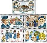 GB - Insel Man 272-276 (kompl.Ausg.) 1985 Pfadfinderinnen (Briefmarken für Sammler) Rotary/Lions/Freim./Pfadfinder