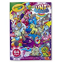 Crayola 04-0542-E-960 Unicreatures Uni Creatures Colouring Book