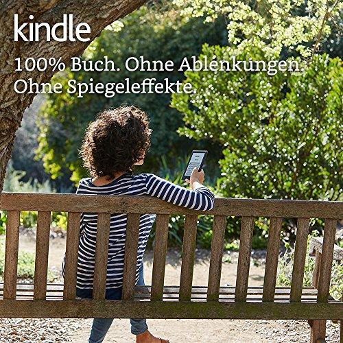 Kindle eReader, 15,2 cm (6 Zoll) Touchscreen ohne Spiegeleffekte, WLAN (Schwarz) - mit Spezialangeboten - 2