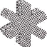 Proteggi pentole e salvapadelle Chefarone – Set 5 pezzi – Lunghezza 38,5 cm – Perfetti per pentole e padelle antiaderenti in acciaio inox, ghisa, ceramica