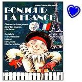 Telecharger Livres Bonjour la France populaire francais chansons pour les petites Piano Joueurs pour jouer et chanter PIANO Notes avec colore Cœur Note Pince (PDF,EPUB,MOBI) gratuits en Francaise