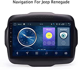 Harberide Android 8 1 Auto Navigation System 9 Zoll Touchscreen Autoradio Für Jeep Renegade 2016 2018 Unterstützt Bluetooth Wifi Multimedia Lenkradsteuerung 4g Wifi 2 32g Sport Freizeit