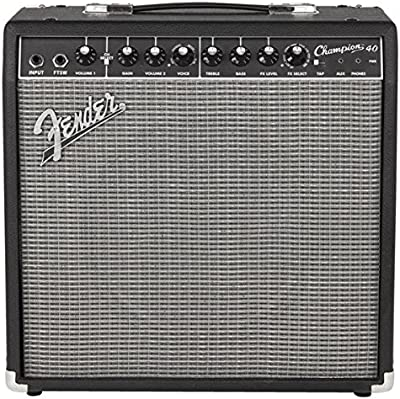 Fender Champion 40  40W 1x 12Combo–Amplificador de guitarra