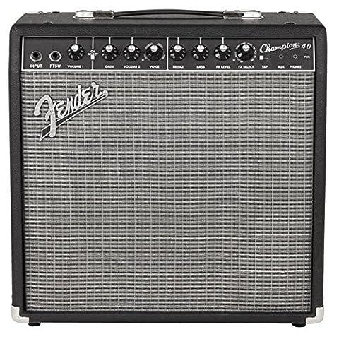 Fender - Champion 40 -Ampli combo 40W pour (12 Guitar Amp)