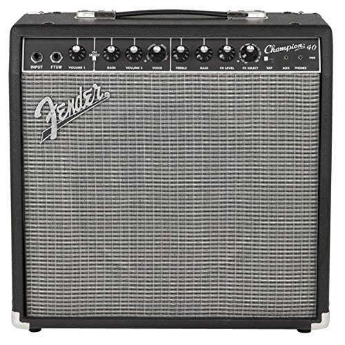 Fender Champion 2-Channel 40 Watts Combo Guitar Amp (Black)