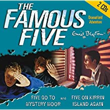 Five Go to Mystery Moor & Five On Kirrin Island Again (Famous Five, Band 1)