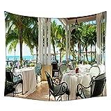 Snoogg schwarz Stühle Wandteppichen indischen Mandala Tapisserie Dekorative Wohnheim Wandteppichen Beach Picknick Tabelle Hippie Tapisserie Wand, Bohemian