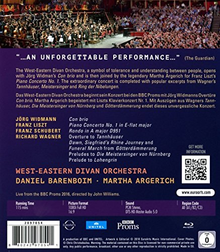 West-Eastern Divan Orchestra at The BBC Proms [Blu-Ray] [Import Italien]