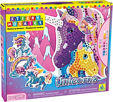 Orb Factory 620870 - Sticky Mosaics Unicorns