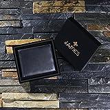 Die Leder Geldbörse mit Geschenkkiste -kostenlose Gravur - Bestes Geschenk für Männer
