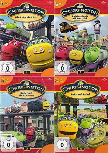 Chuggington Volume 1 + 2 + 3 + 4 Collection (4-DVD)