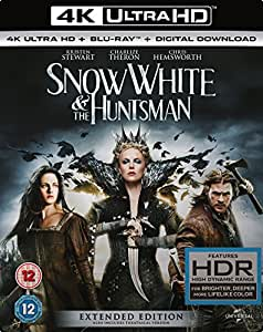 Snow White And The Huntsman (Extended Edition) [4K UHD Blu-ray + Blu-ray + Digital Download] [2012]