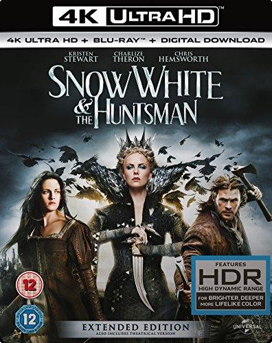 Bild von Snow White and The Huntsman (Extended Edition) [4K UHD Blu-ray + Blu-ray + UV Copy] [2012] UK-Import, Sprache-Deutsch, Englisch...