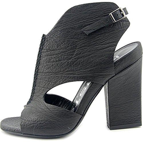 Kalliste 5227 Femmes Cuir Sandales Black