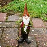 Monty the Cheerful Resin Garden Gnome Ornament