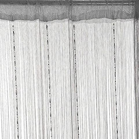 Moresave Linie wulstige Troddel String-Tür-Fenster-Raum-Teiler Vorhang