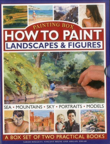 Painting Box: How To Paint Landscapes & Figures (Painting Box 2 Book Slipcase) by Sarah Hoggett (2012-10-18)