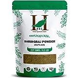 H&C Herbal Ingredients Expert 100% Natural Bhringraj (Eclipta Alba) Powder - 227g / 0.5 LB / 08 oz - For Hair Care…