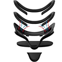KIWI design pour Oculus Quest Cover Accessoires 5 en 1, Support d'Interface Faciale Anti-fuite, Coussin de Rechange en…