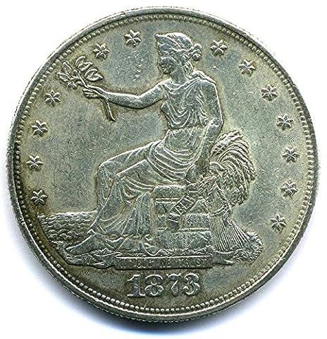 Münze USA 1873 - Trade Dollar - United States of America REPLICA