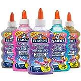 ELMER'S Colla Glitterata, Lavabile e Adatta ai Bambini, Ottima per Realizzare Slime