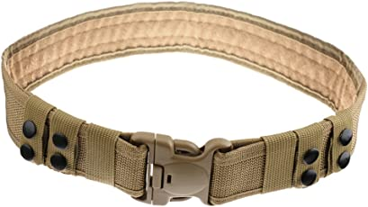Generic Adjustable Tactical Emergency Rescue Rigger Military Hunting Belt