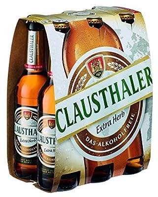 Clausthaler Extra Herb Premium Alkoholfrei Pils Mehrweg, (6 x 0.33 l)
