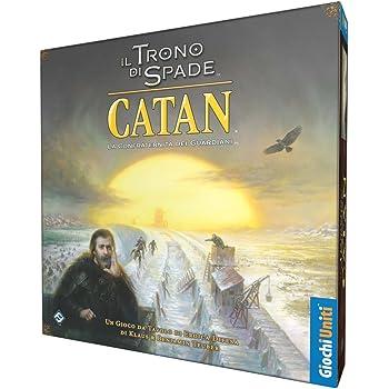 Giochi Uniti Games of Thrones il Trono di Spade Catan - la Confraternita dei Guardiani, GU606