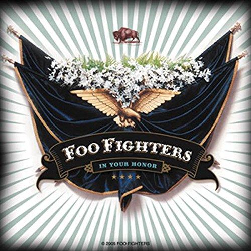 Foo Fighters Aufkleber Sticker Alternative Rock Musik ca. 10x10 cm