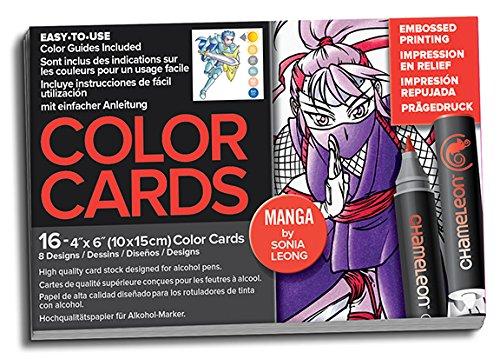 Chameleon Farbe Karten - Manga