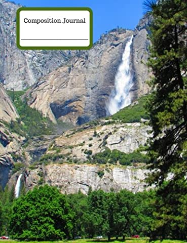 Composition Journal (Notebook) - Yosemite Falls: 100 College Ruled Pages