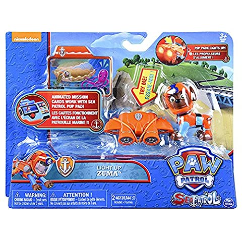 Paw Patrol Sea Patrol - Light Up with Pup Pack
