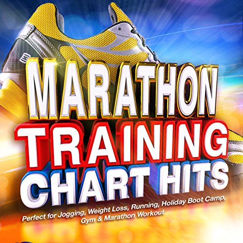 Marathon Training Chart Hits - Perfect for Jogging, Weight Loss, Running, Holiday Boot Camp, Gym & Marathon Workout