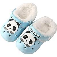 CELANDA Zoccoli e Sabot Inverno Bambini Pantofole de Casa Ragazze Ragazzi Morbide Peluche Ciabatte Antiscivolo Scarpe…