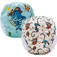 Pannolini Piscina Costume Contenitivo Neonato Bambino Riutilizzabili Pannolini da Nuoto Mare E Piscina Baby Slip Cover…