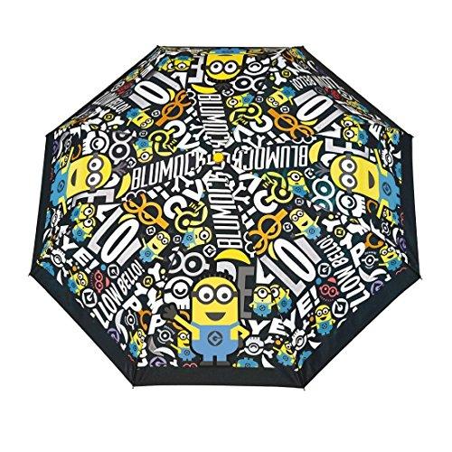 Ombrello mini manuale Minions per bambini Nero cod: 75047
