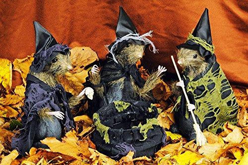 el Deko für Halloween - Süße Halloween Dekoration zum Stellen (Preiswerte Halloween Dekoration)