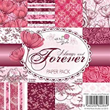 Wild Rose Studio 6x6 Paper Pack, Always and Forever