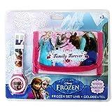 Disney Frozen Star Wars Motif Jeu De Cadeau Enfants Portefeuille Porte-monnaie et digital Montre à bracelet - Congelés