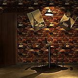 YUELA Amerikanische brick Selbstklebende Tapete, die auf alten kreative Wand renoviert Aufkleber Schlafzimmer Tapete, Amerikanische Backstein, große