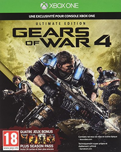 Gears of War 4 - Ultimate Edition - Xbox One - [Edizione: Francia]