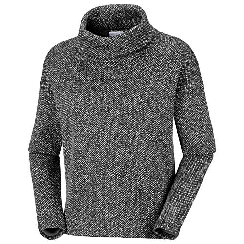 Columbia Damen Chillin Fleece-Pullover, Black, M Columbia Fleece Pullover