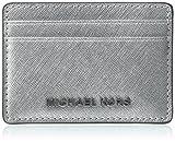 Michael Kors Damen Jet Set Travel Tornistertasche, Silber (Silver), 2.5x9.5x11.4 cm
