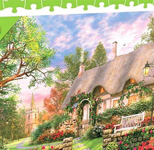 Puzzle éducatif pour enfants Environ 1000 Pièces Papier Voir Puzzle Education Learning Jouet Fantastique Cadeaux (Cottage anglais)   Outlet Store